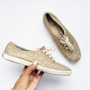 Keds gold sneakers size 7.5